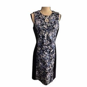 NWT J. McLaughlin Navy Sheath Dress size M
